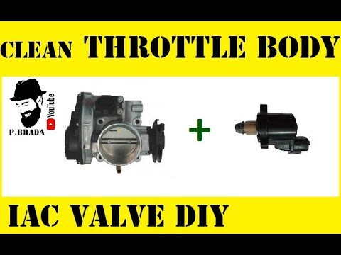 How to clean the Throttle Body and IAC valve