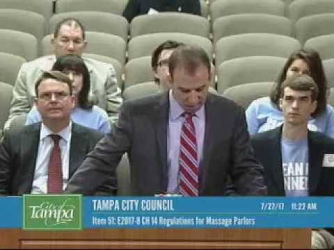 Tampa City Council Addresses Massage Parlors
