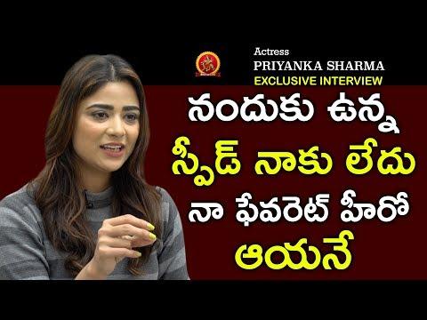 Actress Priyanka Sharma Exclusive Interview || Anchor Ariyana || BhavaniHD Movies
