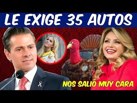 La Gaviota tendrá un Tianguis de autos financiados por Peña Nieto a cambio del Divorcio
