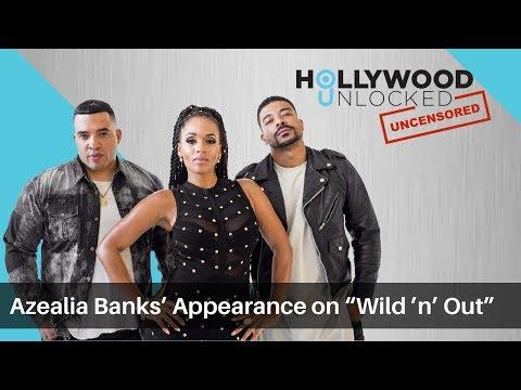 "Jason Lee talks Azealia Banks' Appearance on ""Wild 'n' Out"" on Hollywood Unlocked UNCENSORED"