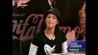 Zurda Konducta, VTV.  Patricia de Ceballos y los cachos a Daniel Ceballos con Chataing. Venezuela