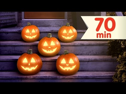 Five Little Pumpkins + More  Counting Songs & Nursery Rhymes  Super Simple Songs