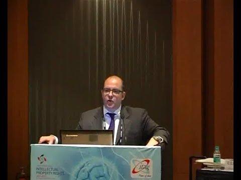 MR.Prof Dr Felix Gross at GIPC 2013,Bangalore,India