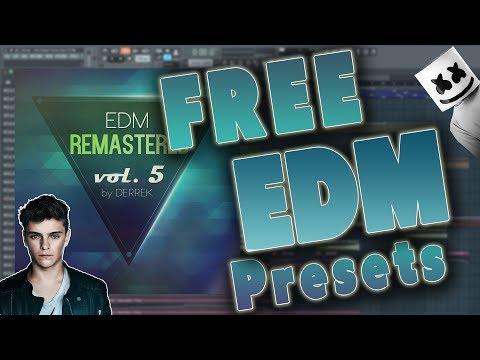 EDM Remastered Vol. 5 For Spire (FREE EDM PRESETS BANK)