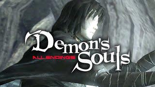 【Demon''s Souls】全エンディング集:火守女殺害&生存【デモンズソウル】
