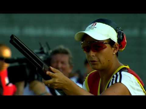 Чемпионат Европы - 2015, скит, женщины (с русскоязычным комментатором)