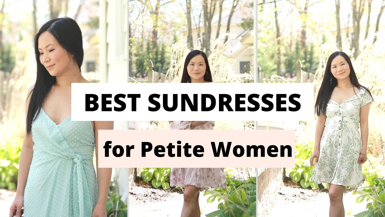 Best Dresses for Short Women If You are Under 77""