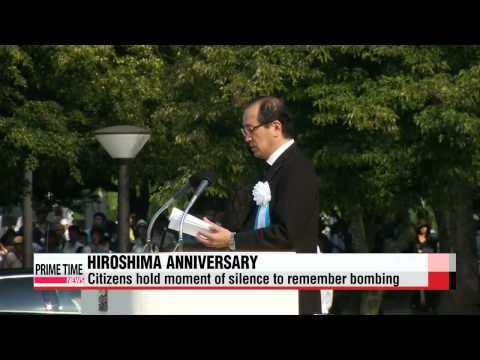 Japan marks 70th anniversary of Hiroshima atomic bombing   히로시마 핵 폭탄 70주년 기념