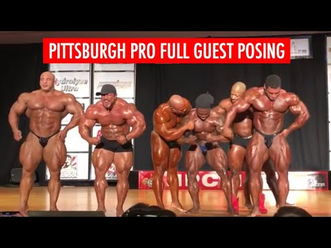 Pittsburgh Pro Full Guest Posing 2018