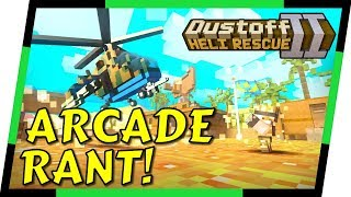Dustoff Heli Rescue 2 - THE ONLY GOOD ARCADE GAME?   MGQ Ep. 104