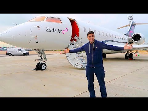 Thumbnail: Private Jet with a BILLIONAIRE !!!