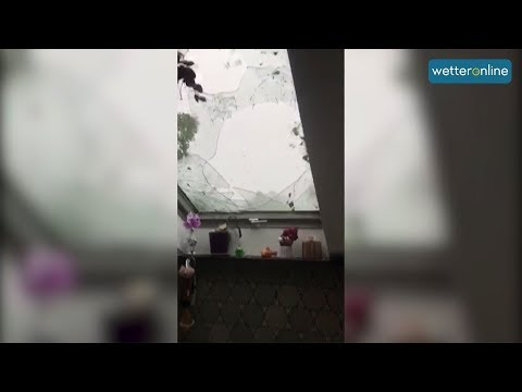 Hagelunwetter am Ammersee (11.06.2019)