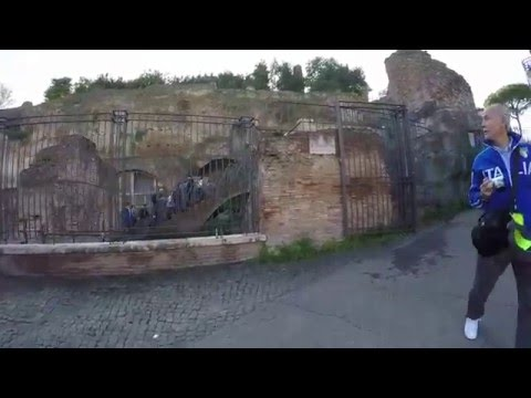 STREET VIEW: Roman Forum in Rome in ITALY