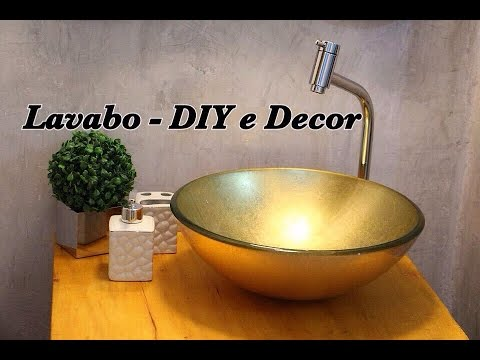 lavabo vintage industrial diy e decor youtube. Black Bedroom Furniture Sets. Home Design Ideas