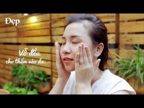 (V-line Face Massage) 5 cách massage giúp gương mặt thon gọn hơn