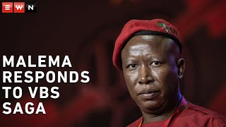 EFF leader Julius Malema sat down with journalists on 25 June 2020 where he answered questions about the allegations that he benefitted from the VBS Mutual Bank scandal. Malema maintained his and the EFF's innocence, saying that there was no proof that he was involved in the fraud that saw the bank close its doors.