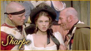 Obadiah Hakeswill Takes Lady Isabella Captive   Sharpe