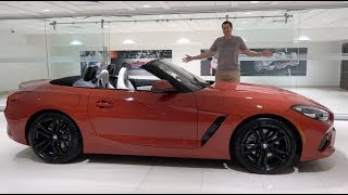 homepage tile video photo for The 2019 BMW Z4 Is a Fun Luxury Roadster