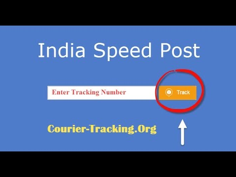 India Speed Post Tracking Guide