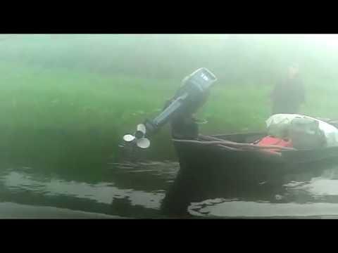 Защита винта и редуктора лодочного мотора своими руками видео