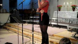 Elin Svensson - Hold me now (Kirk Franklin)