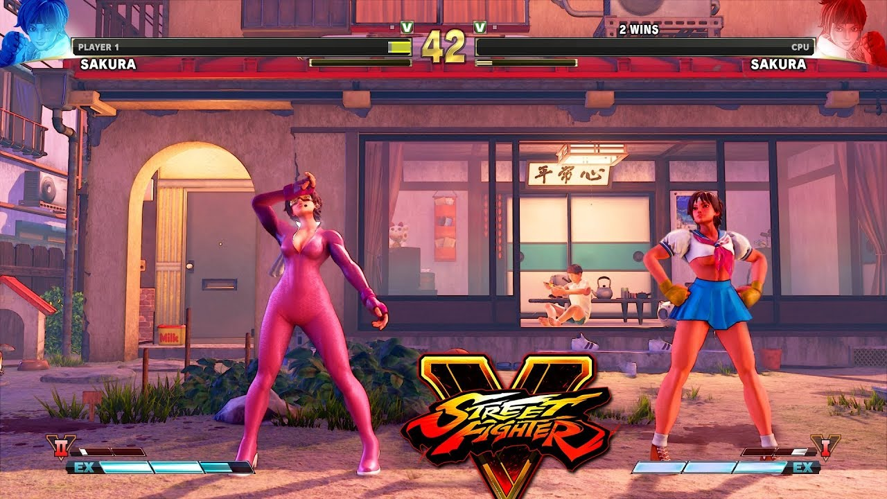 Street Fighter V AE Sakura vs Sakura PC Mod