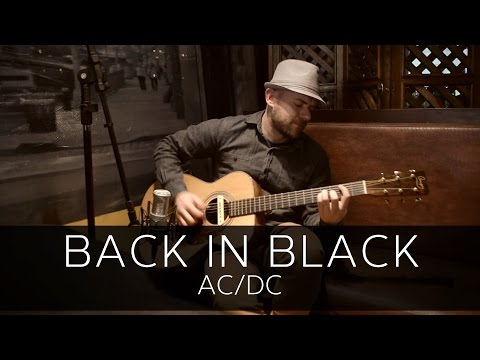 BACK IN BLACK (AC/DC) - Acoustic Guitar Solo Cover