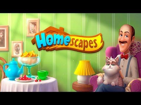 Homescapes Создаём УЮТ в Доме ДЕТСТВА Детское Видео Игровой Мультик Let's Play