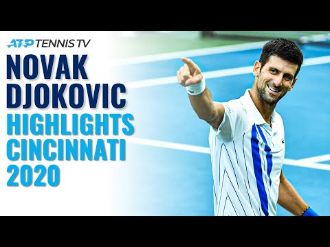Novak Djokovic Brilliant Shots & Best Moments In Title Run! | Cincinnati 2020