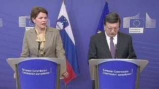 Slovenian PM says things are tough, but no bailout - economy