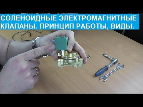 Что такое соленоидный электромагнитный клапан, назначение, устройство и принцип действия