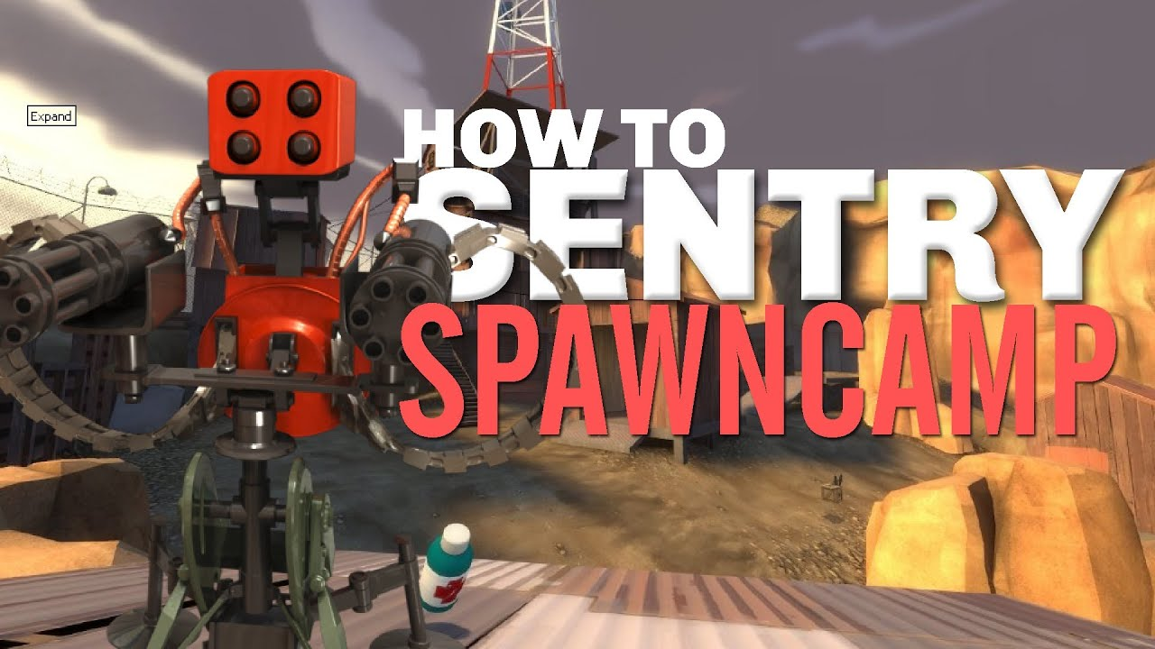 TF2 - How to Sentry spawn-camp