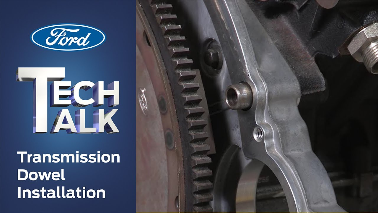 Transmission Dowel and Torque Converter Installation | Ford Tech Talk