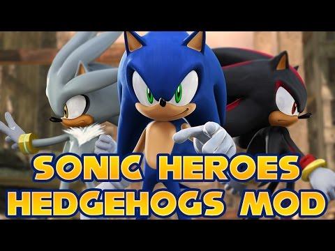 Sonic Classic Heroes - Hack Sonic 1 (Sega Mega Drive/Genesis).
