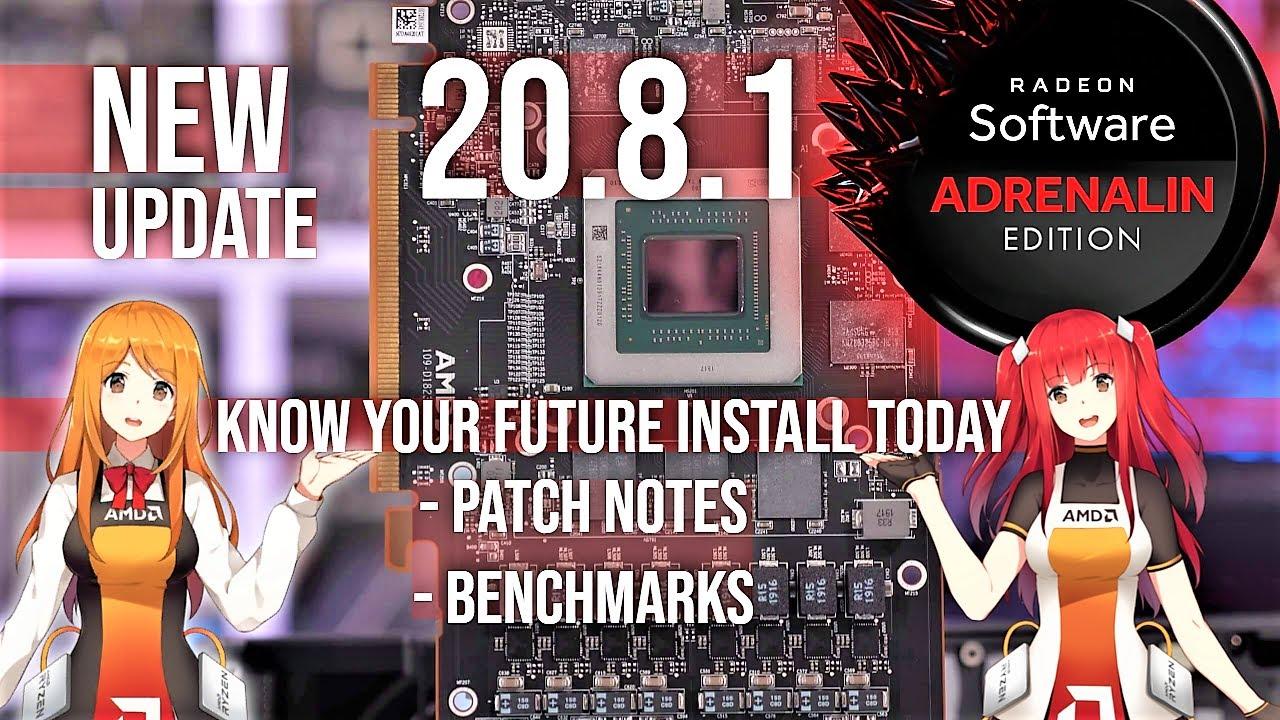 New AMD Radeon Software Adrenalin 20.8.1 Update 💻 Gpu 2020