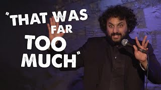 Nish Kumar watched a sex scene with his Dad | Soho Theatre On Demand