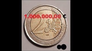 2 Euro Fehlprägung 1.000.000,00 €