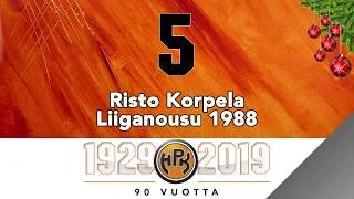 Joulukalenteri #5, Risto Korpela ja Liiganousu 1988