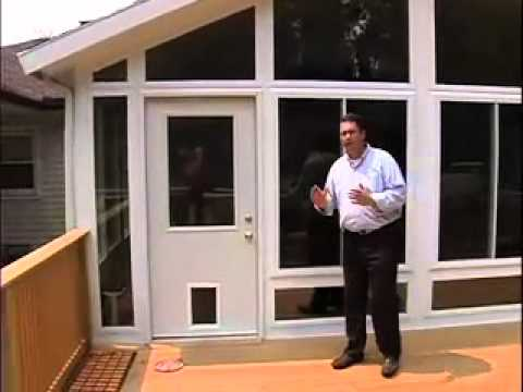 Sunroom, Deck and Ramp Project by New York Sash