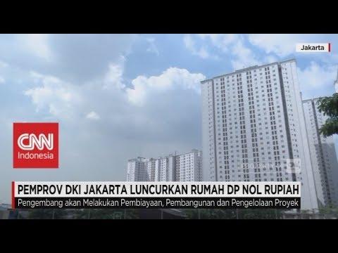 Pemprov DKI Jakarta Luncurkan Rumah DP 0 Rupiah