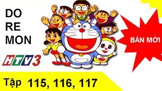 Phim hoạt hình Doremon Tiếng Việt tập 115,116,117 HTV3 Full HD