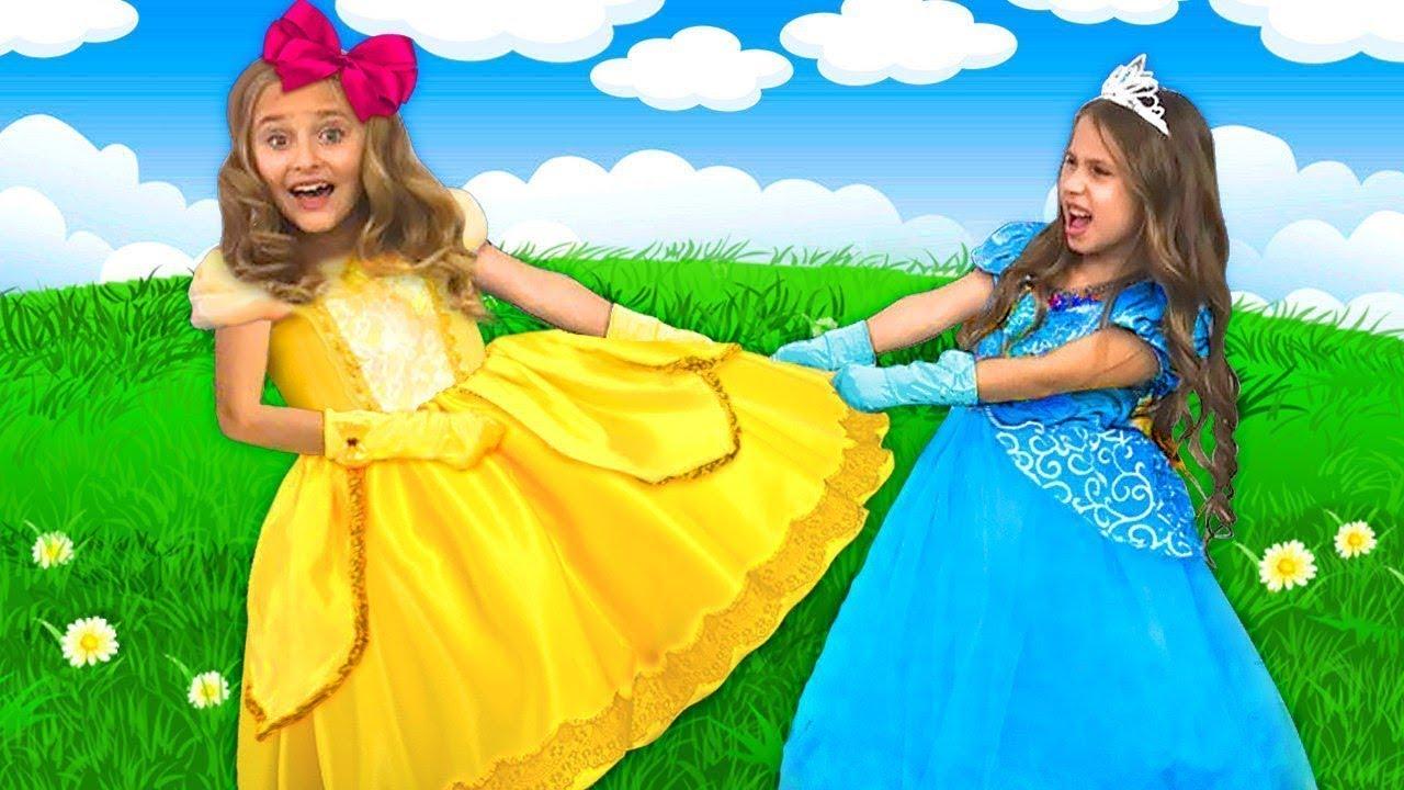 Sasha y sus amigos tienen una cita con el príncipe, pero no pueden compartir el vestido.