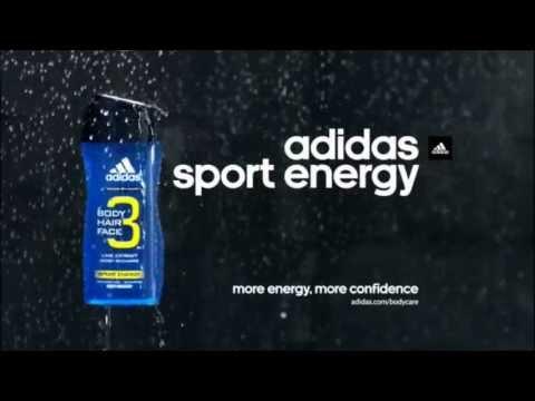 New Sport Energy Shower Gel