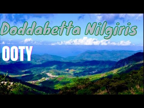 Ooty Doddabetta Highest Mountain in Nilgiri Hills India - Part 2 *HD*
