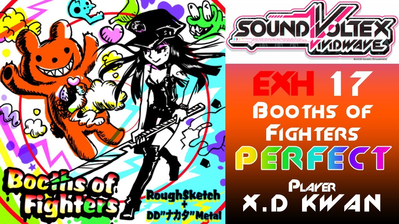 Sdvx booths of fighters