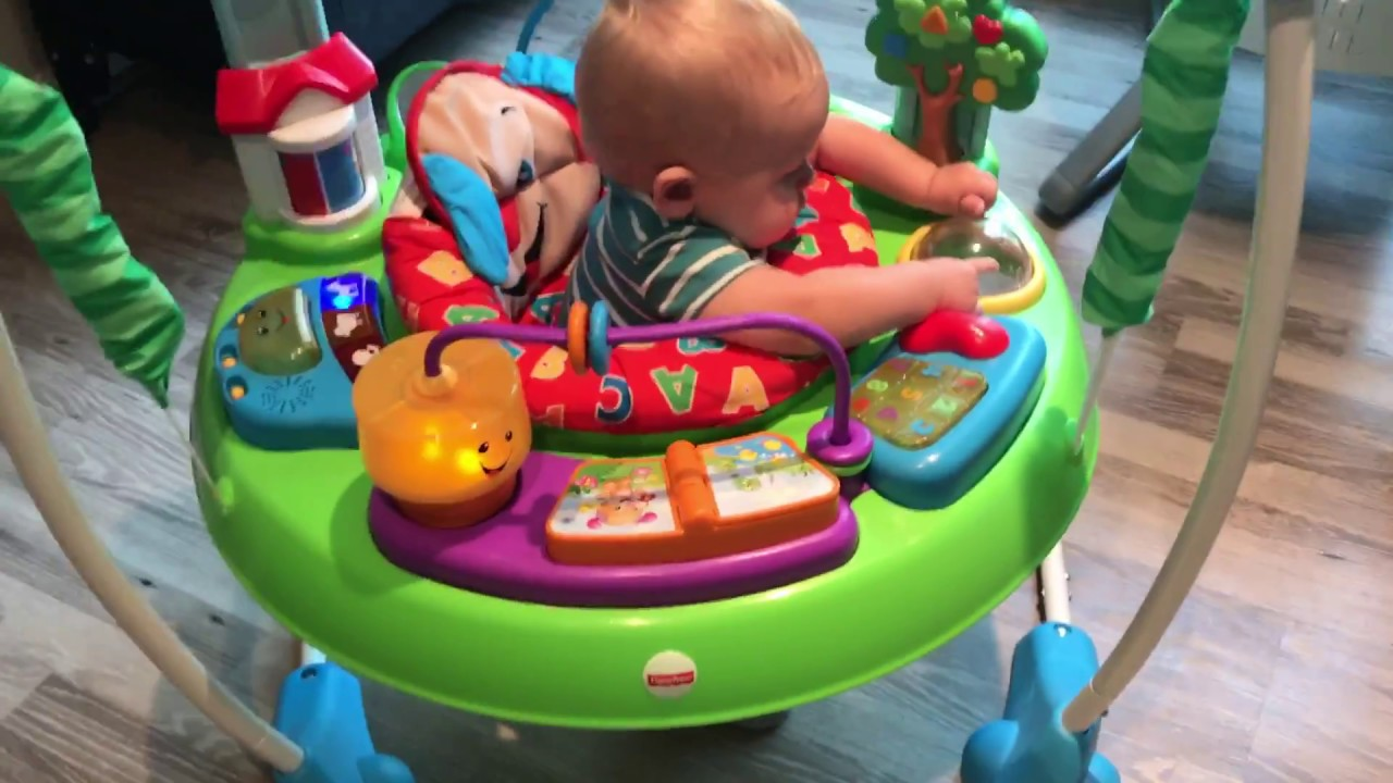 a0787964825a Fisher Price Laugh and Learn Jumperoo - YouTube