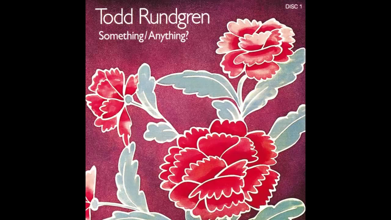 そして今日はTodd Rundgren のお誕生日です