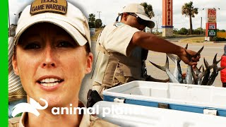 Fishing Poachers Try To Trick Game Wardens | Lone Star Law