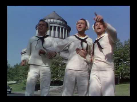 Frank Sinatra, Gene Kelly, and Jules Munshin -
